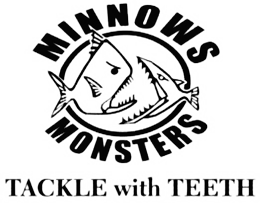 Minnows and Monsters Retina Logo